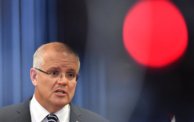 Australian Prime Minister Scott Morrison press conference