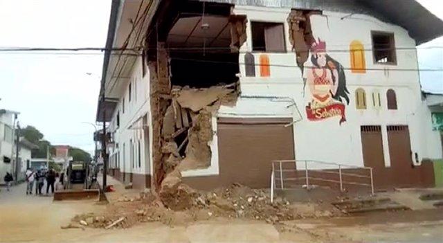 Perú.- Al menos un muerto y 11 heridos por el terremoto registrado en el norte de Perú