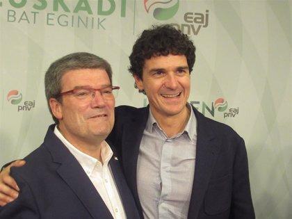 """Aburto defiende gestionar el resultado """"desde la humildad"""" y buscar alianzas para un """"liderazgo fuerte"""" de Bilbao"""