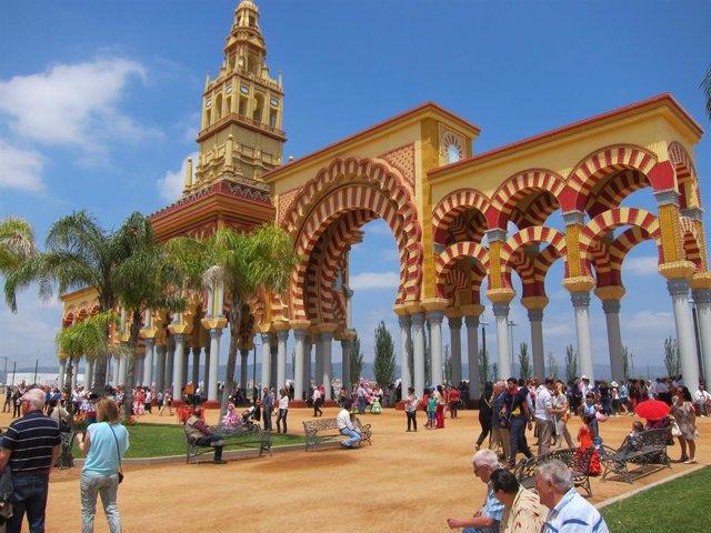 Córdoba.- La Feria de Nuestra Señora de la Salud comienza este viernes con 98 casetas, 80 atracciones y más de 50 actos