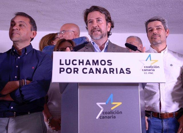 """26M.- Alonso Descarta Pactar Con El PSOE En Cabildo De Tenerife: """"Nos Toca Liderar El Gobierno Con Apoyo De PP Y Cs"""""""