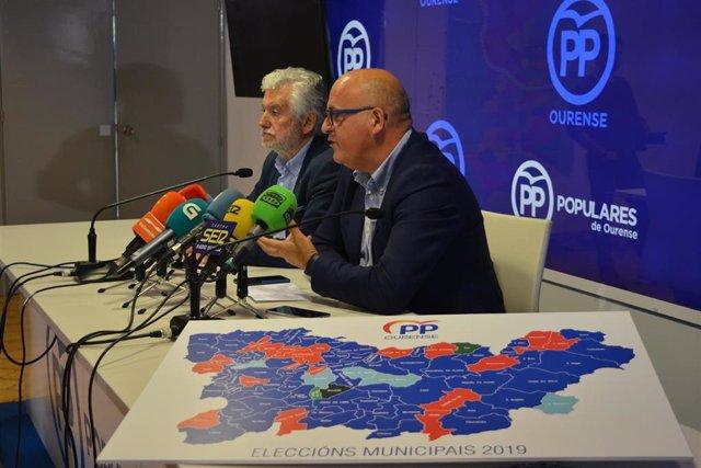 """26M.-M.-Baltar, Pendiente De La """"Revisión De Votos"""" Para Revalidar La Mayoría En La Diputación De Ourense O Buscar Apoyo"""