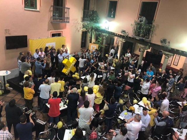 """El futuro alcalde de Ávila, Sánchez Cabrera, dice que los abulenses han elegido """"un cambio"""""""