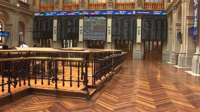 Economía/Bolsa.- El Ibex 35 se queda a las puertas de los 9.200 puntos con una caída del 0,87% y con el crudo al alza