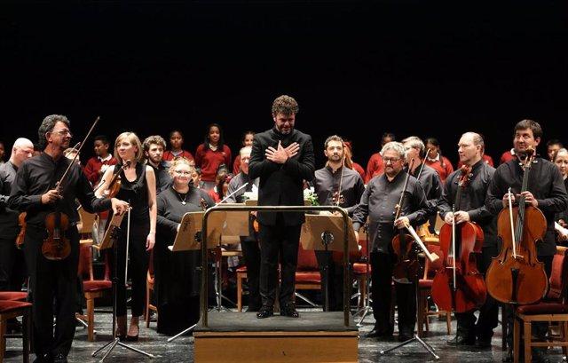 Pablo Heras-Casado dirige por quinto año consecutivo el concierto 'Acordes con Solidaridad'