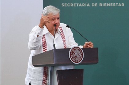 López Obrador afirma que no aceptará chantajes de corruptos en la compra de medicamentos