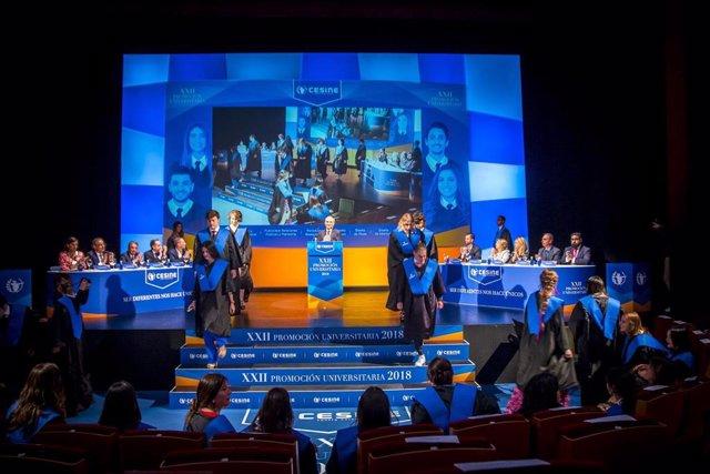 Cesine celebra este jueves la graduación de más de 200 alumnos procedentes de 25 países