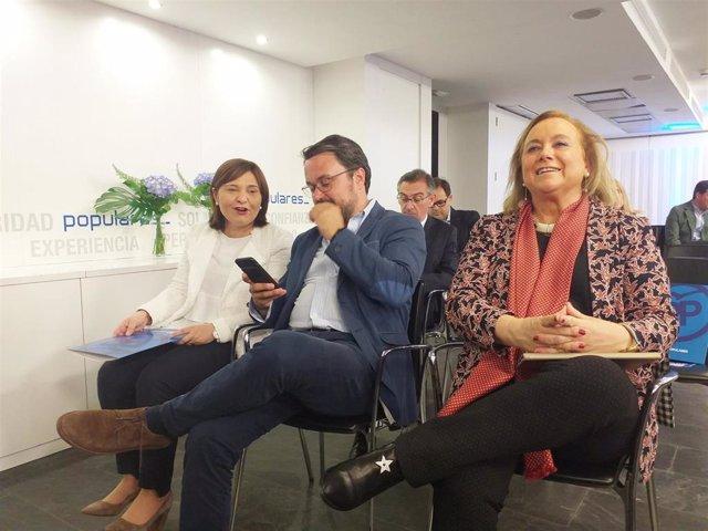 """26M.- Mercedes Fernández (PP) Ve """"Demasiada Distancia"""" Con El PSOE En El Parlamento Asturiano"""