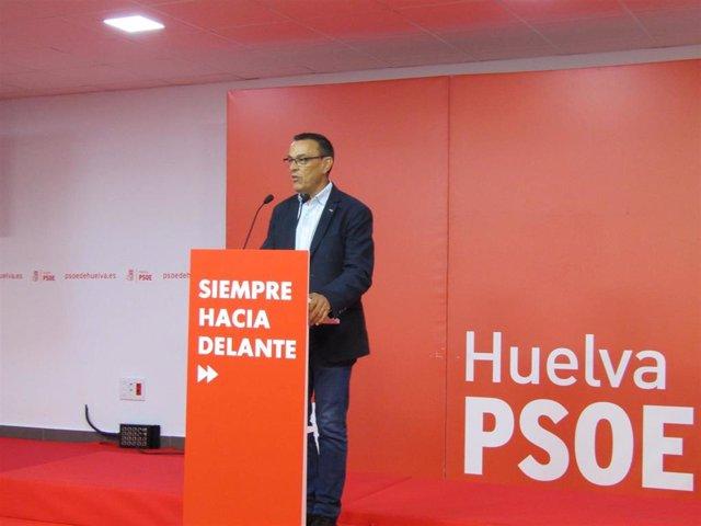 """Huelva.- 26M.- Caraballo destaca los """"resultados espectaculares"""" del PSOE en Huelva que suma 8 nuevas mayorías absolutas"""