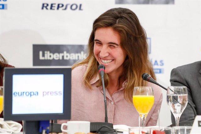 Desayuno Deportivo de Europa Press con el seleccionador nacional femenino de fútbol, Jorge Vilda