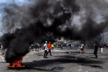 Detenidas seis personas sospechosas de planificar asesinatos durante los disturbios electorales en Indonesia