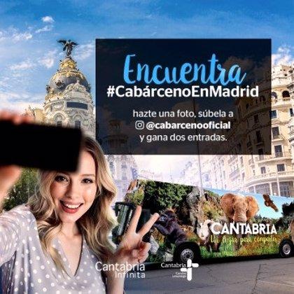 El Parque de Cabárceno se promociona en Madrid