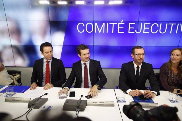"""26M.- Casado dice que empieza la refundación del centro derecha y tiene cuatro años """"para consolidar el proyecto"""" del PP"""
