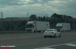 Enxampen un home a 227 km/h per l'AP-7 a Tarragona (ACN)