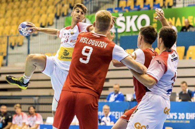 Balonmano/Selección.- Antonio Serradilla (Quabit), novedad en los Hispanos para los duelos ante Suecia y Noruega