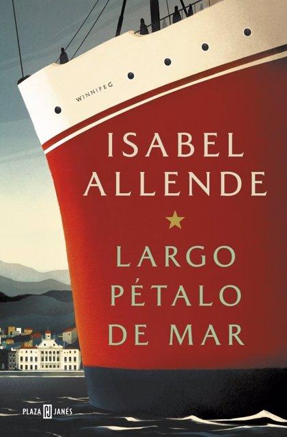 """Isabel Allende publica 'Largo pétalo de mar': """"Trump ha hecho de la situación de la frontera un genocidio"""""""