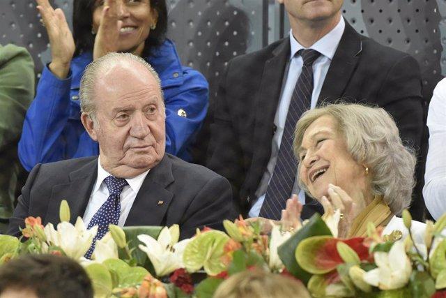 Los Reyes Juan Carlos y Doña Sofía se unen para arropar a Rafa Nadal