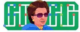 Google homenajea a la filántropa brasileña Dorina Nowill al cumplirse 100 años de su nacimiento