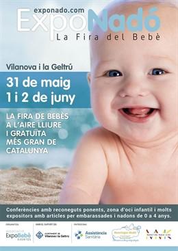 COMUNICADO: Feria de bebés ExpoNadó Vilanova, un fin de semana dedicado al embarazo, la infancia y las nuevas familias