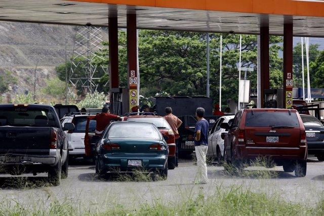 Fuel shortage in Venezuela