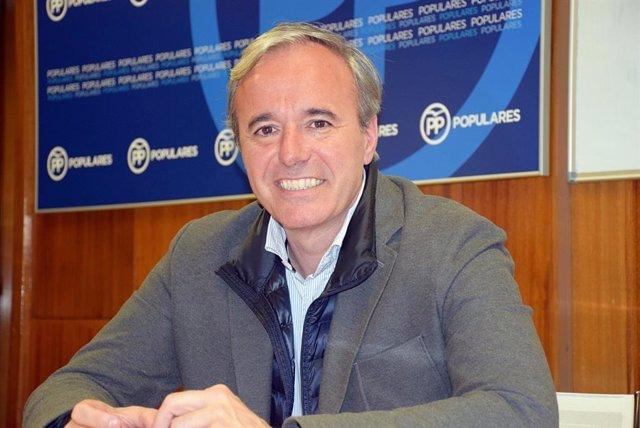 """26M.- Zaragoza.- Azcón (PP): """"Aspiro a gobernar con Cs y estaría encantado de que Sara Fernández sea vicealcaldesa"""""""