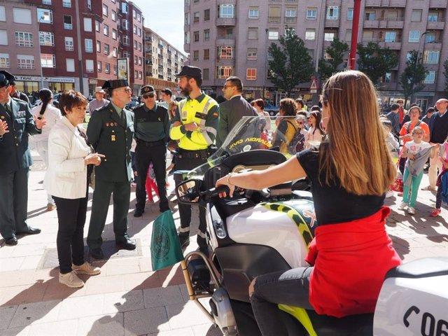 """Martín Juárez reconoce que """"es de justicia"""" valorar el trabajo """"eficaz y eficiente"""" de la Guardia Civil en CyL"""