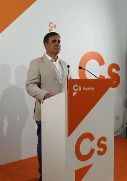 Huelva.-26M.-Néstor Santos destaca que CS duplica con sus 14.500 votos en la provincia los resultados de 2015