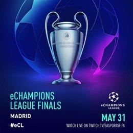 Fútbol/Liga Campeones.- La final de la eChampions League será en Madrid el 31 de