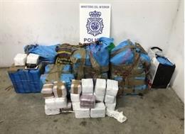 Cádiz.-Sucesos.- Detenido en Algeciras conduciendo una furgoneta robada con 300 kilos de hachís