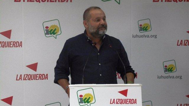 """Huelva.- 26M.- Sánchez Rufo (IU) reconoce tienen que """"seguir trabajando para conectar con la mayoría social"""""""
