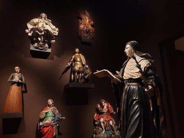 """Un """"ejército de silenciosas obras de arte"""" emerge desde la """"cueva de Ali Baba"""" del Museo Nacional de Escultura"""
