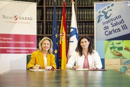 El Instituto de Salud Carlos III y Gilead anuncian la VII edición de sus Becas a la Investigación Biomédica