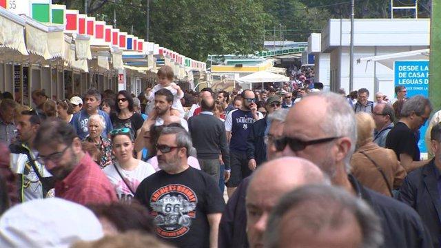 Continúa la Feria del libro de Madrid