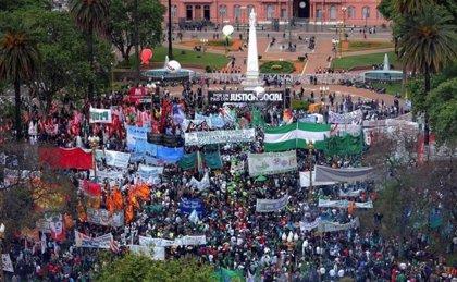 La CGT argentina activa el quinto paro general en rechazo a la situación económica