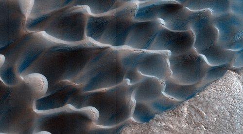 En Marte, las arenas se mueven con procesos distitnos a los terrestres