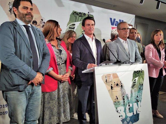 "AMP- 26M.- Valls admite su ""fracaso"" en Barcelona pero avisa a Cs de ""ruptura total"" si pacta con Vox en Madrid"