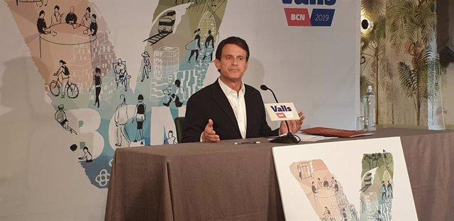 """AMP.- Valls ofereix """"sense condicions"""" els seus vots a Colau per evitar que Maragall sigui alcalde"""
