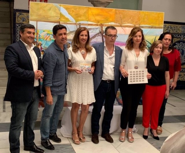 Huelva.- Correos promociona la exposición de pintura 'Luz de mujer, Sorolla 100 años después' en Ayamonte