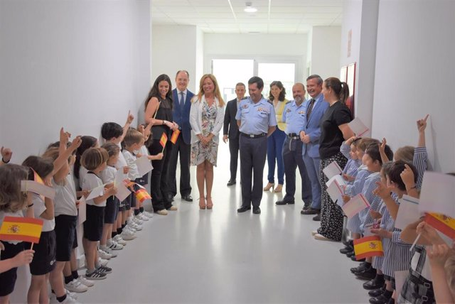 Sevilla.- El director de Enseñanza del Ejército del Aire visita el Campus CEU Andalucía