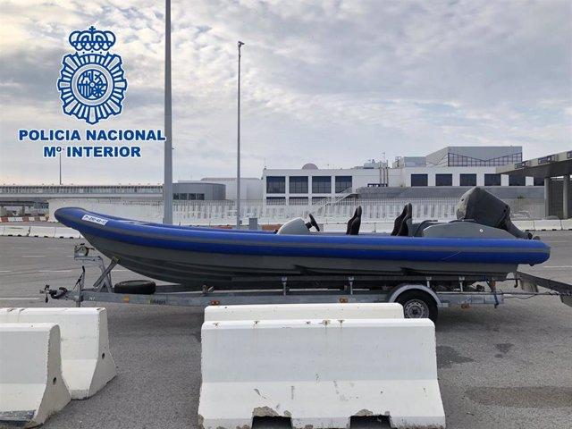 Cádiz.-Sucesos.- Ocho detenidos por blanqueo de capitales y utilización de intermediarios para adquirir narcolanchas