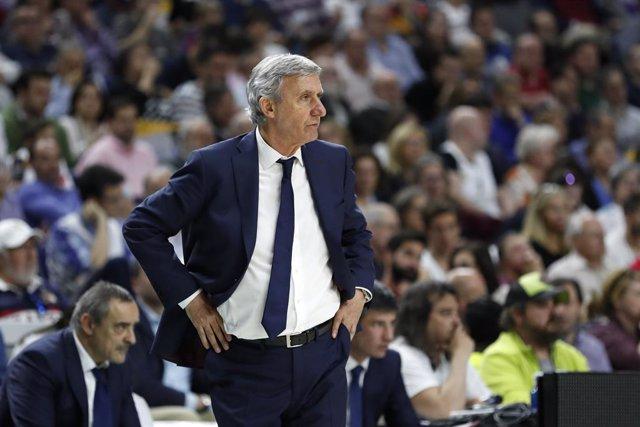 """Baloncesto.- Pesic: """"Ganar en Madrid es importante para la confianza"""""""