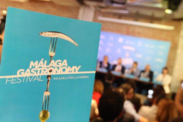 Málaga.- Málaga Gastronomy Festival celebra su sexta edición del 6 al 9 de junio con marcado carácter social y cultural