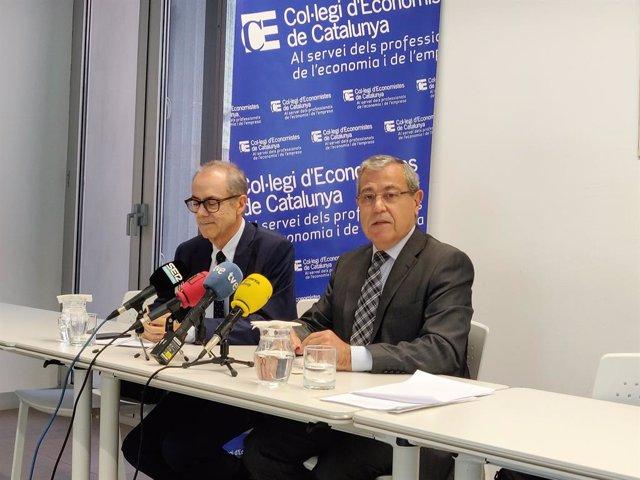 El Col·legi d'Economistes diu que les mesures estatals després de el 1-O no van tenir impacte econòmic