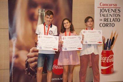Una alumna del colegio Santa María de la Capilla gana el 59 Concurso Coca-Cola Jóvenes Talentos de Relato Corto