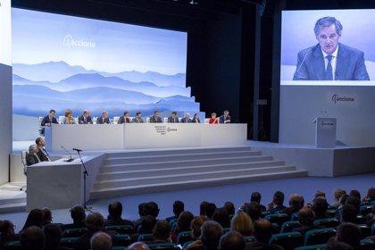 Acciona aprueba hoy en junta elevar un 17% su dividendo, hasta 3,5 euros