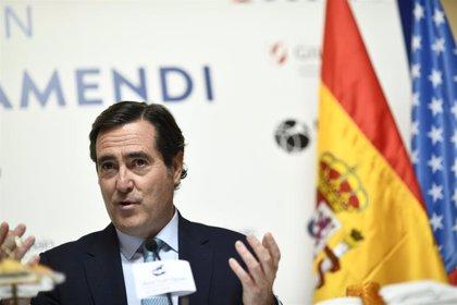 """Garamendi dice que los empresarios despertaron """"más tranquilos"""" tras el 26-M porque ganó la moderación"""