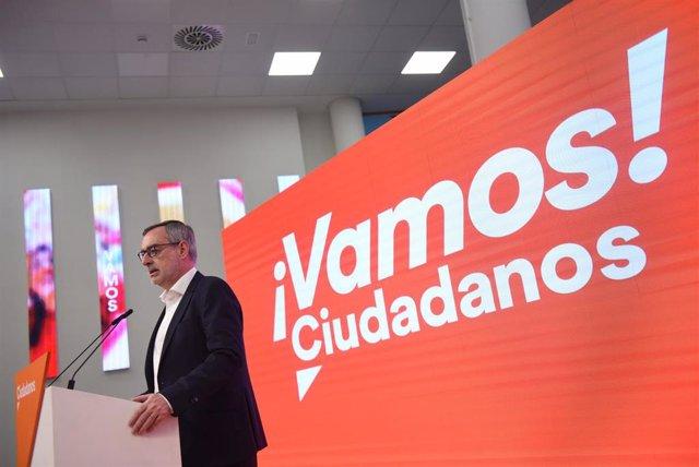 VÍDEO: 26M.- Villegas destaca el crecimiento electoral de Ciudadanos en los sondeos y espera que dé para formar mayorías