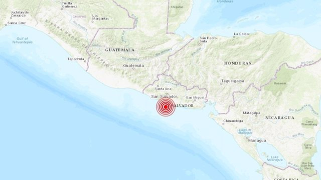 Un sismo de 6,6 grados sacude a El Salvador