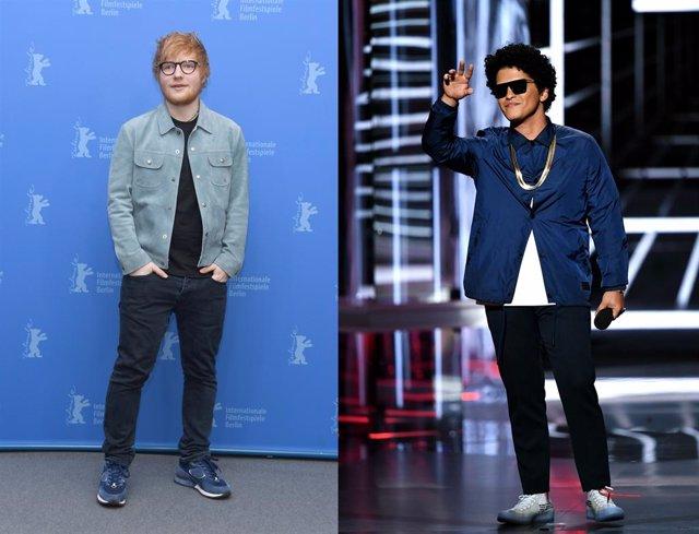 El mundo del pop a punto de explotar: Ed Sheeran confirma colaboración con Bruno Mars