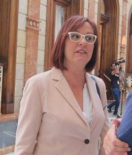 La candidata de Cs a la Presidencia de la Comunidad, Isabel Franco